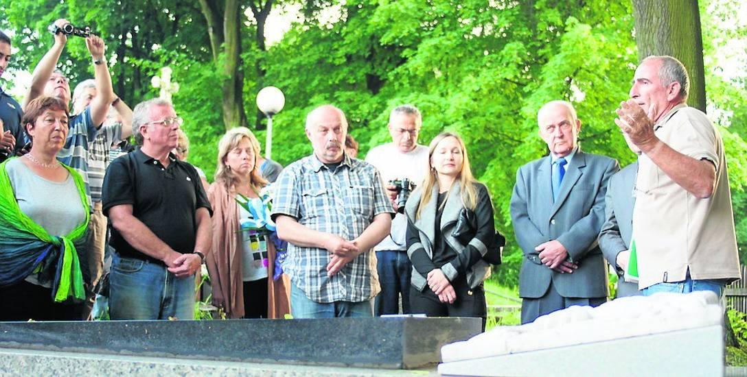 Mszana odnowi grób ofiar Marszu Śmierci, aby turyści przyjeżdżali z Izraela