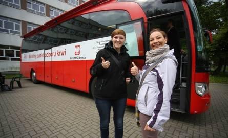 Do studenckiej akcji przyłączyły się również: Iwona Chołuj i Izabela Kępa.