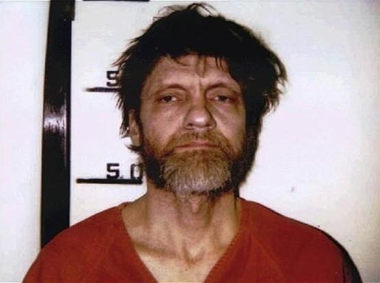 Theodore Kaczynski po aresztowaniu