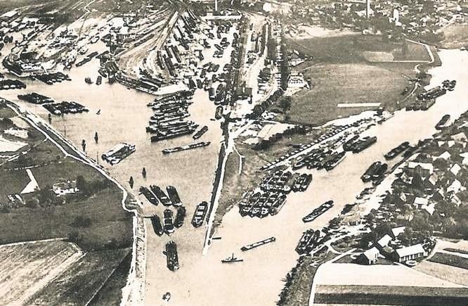 Kozielski port przed lat był jednym z największych w Europie
