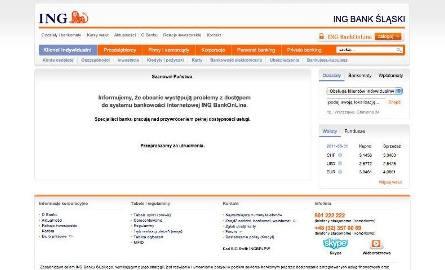 Wielka awaria w ING Bank Śląski. Nie sprawdzisz, ile masz na koncie