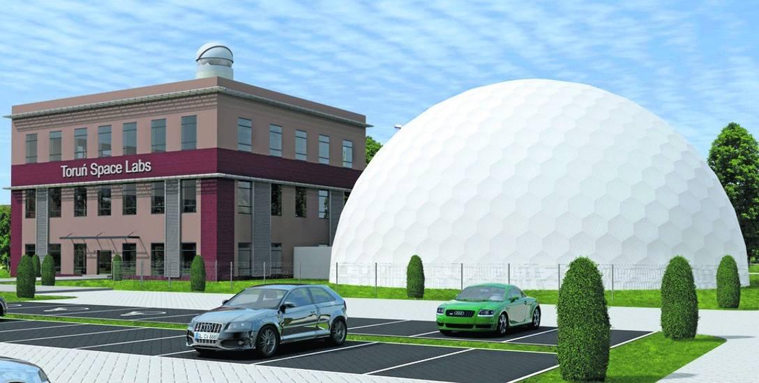 To na razie wstępna koncepcja Toruń Space Labs. Ostateczny projekt przygotuje wyłoniony w przetargu wykonawca