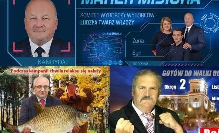 Wybory samorządowe 2018: Najśmieszniejsze i najdziwniejsze plakaty kampanii wyborczej