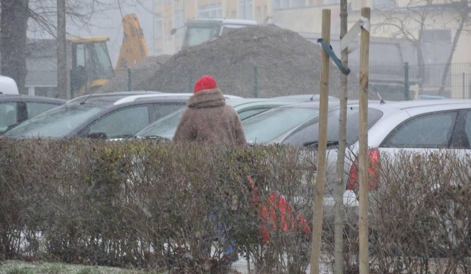Film do artykułu: Załamanie pogody w Świnoujściu. Śnieżyca i bardzo silne porywy wiatru