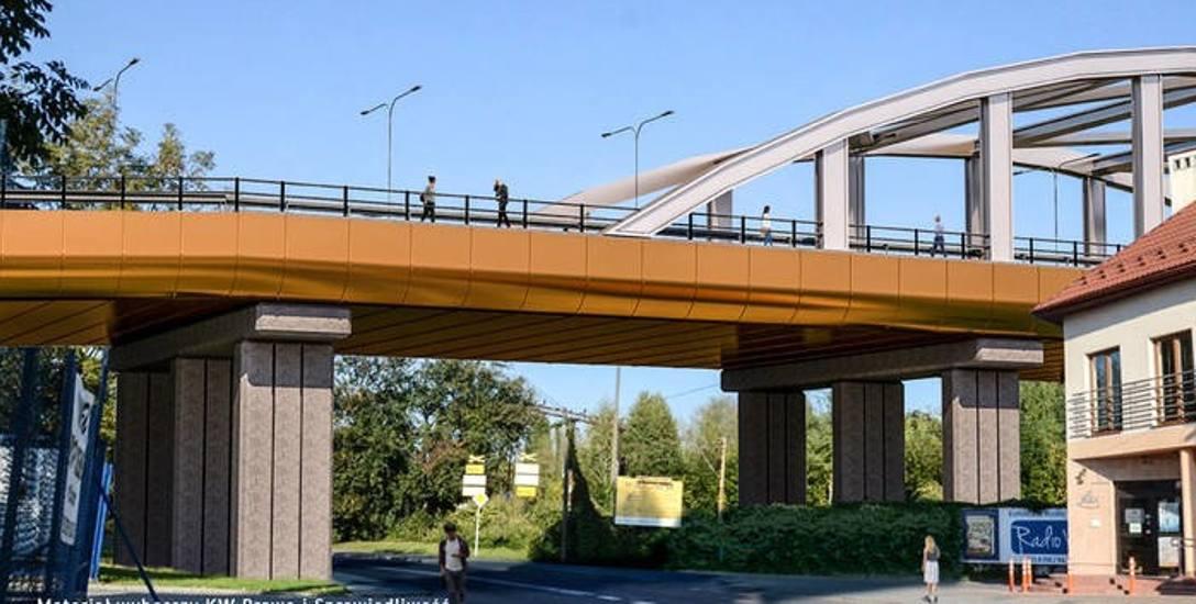 Taką wizję wiaduktu poseł Wojciech Buczak i radni PiS zaprezentowali w kampanii przed ostatnimi wyborami samorządowymi.