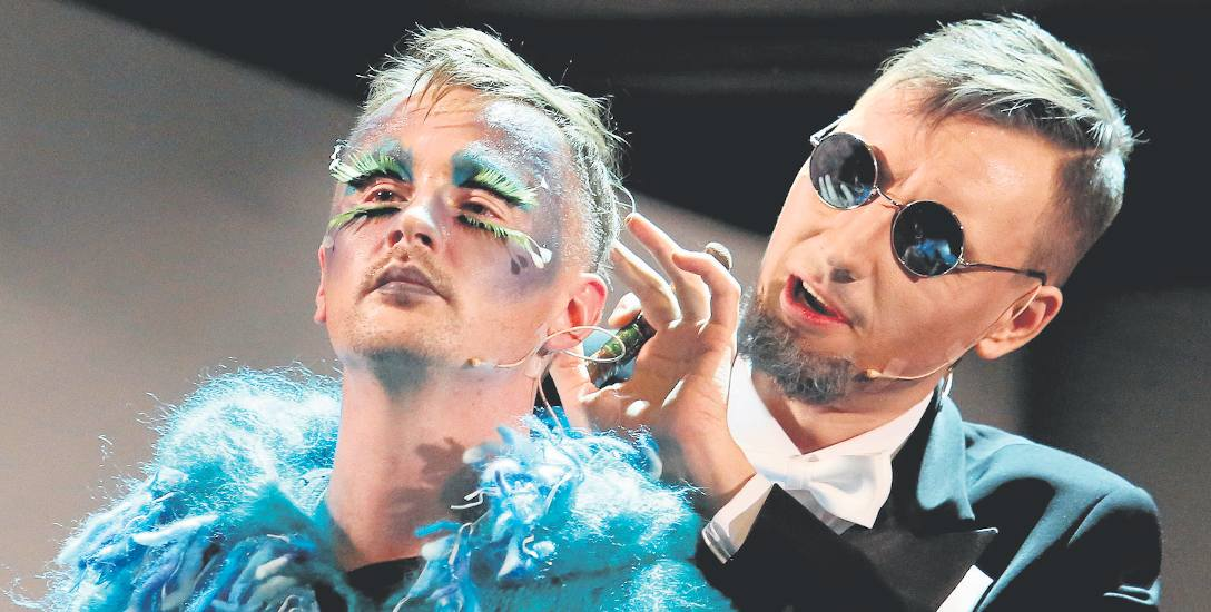 W tytułowej partii Kanta wystąpił Artur Janda (po prawej), obok Jędrzej Tomczyk, czyli Fryderyk