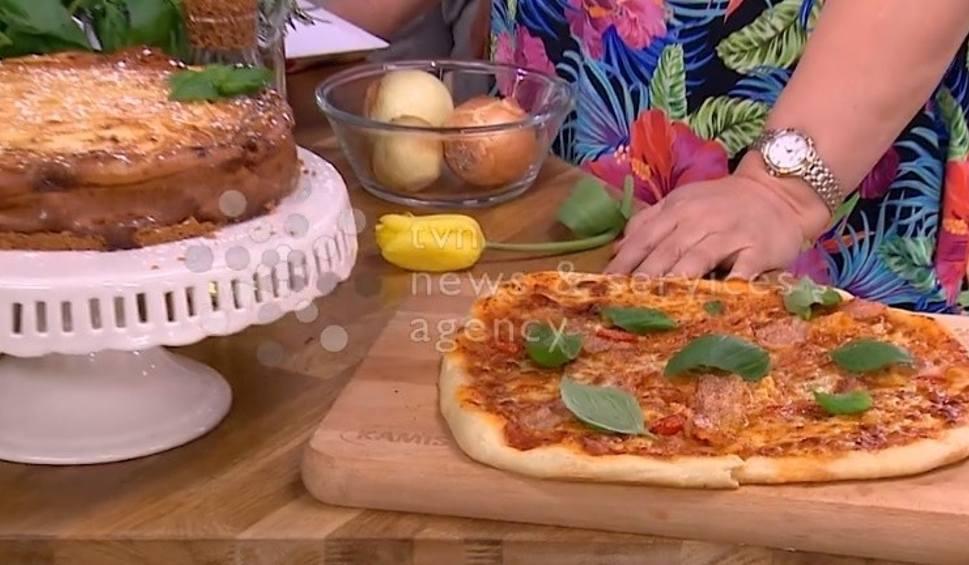 Sernik Bazyliowy Pizza Na Zakwasie Pasta Z Awokado I Bazylii