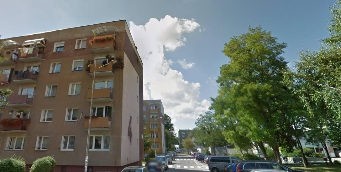 Ulica Jana Rychla w Strzelcach Opolskich.