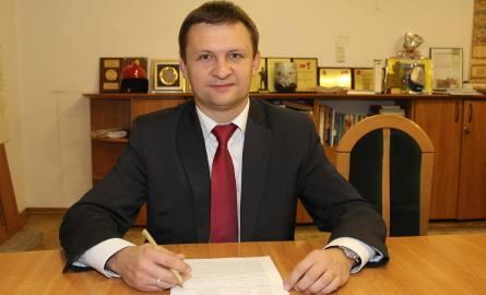 Marcin Pluta jest burmistrzem Brzezin drugą kadencję