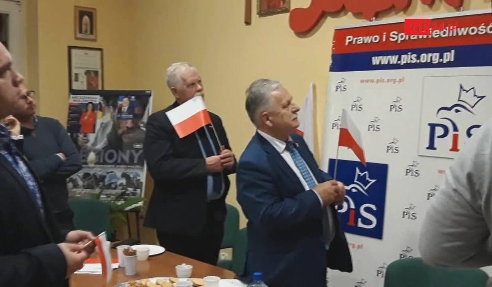 Film do artykułu: Reakcje w słupskim sztabie PiS po ogłoszeniu wyników (wideo)