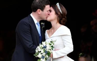 Kolejny ślub w rodzinie królewskiej. Księżniczka Eugenia, córka księcia Andrzeja, drugiego syna królowej Elżbiety, w piątek wyszła za handlarza win Jacka