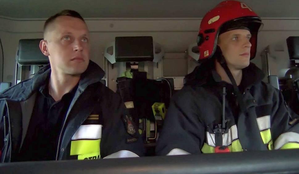 Film do artykułu: Ty tu nie wejdziesz. Jednostka straży pożarnej w Białymstoku (wideo)