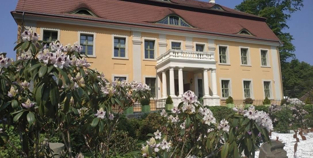 Pałac Wiechlice, tu winnica jest jedną z wielu atrakcji dla gości hotelowych