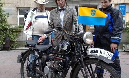 Jednym z najstarszych modeli zlotu była Urania pana Jana Socha z Raciborza. Motocykl wyprodukowano w 1939 roku.