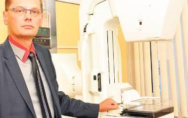 Mammograf w krośnieńskim szpitalu przepracował ponad 20 lat. - Jest przestarzały, zawodny, nie spełnia obowiązujących standardów - tłumaczy Piotr Jurczak,