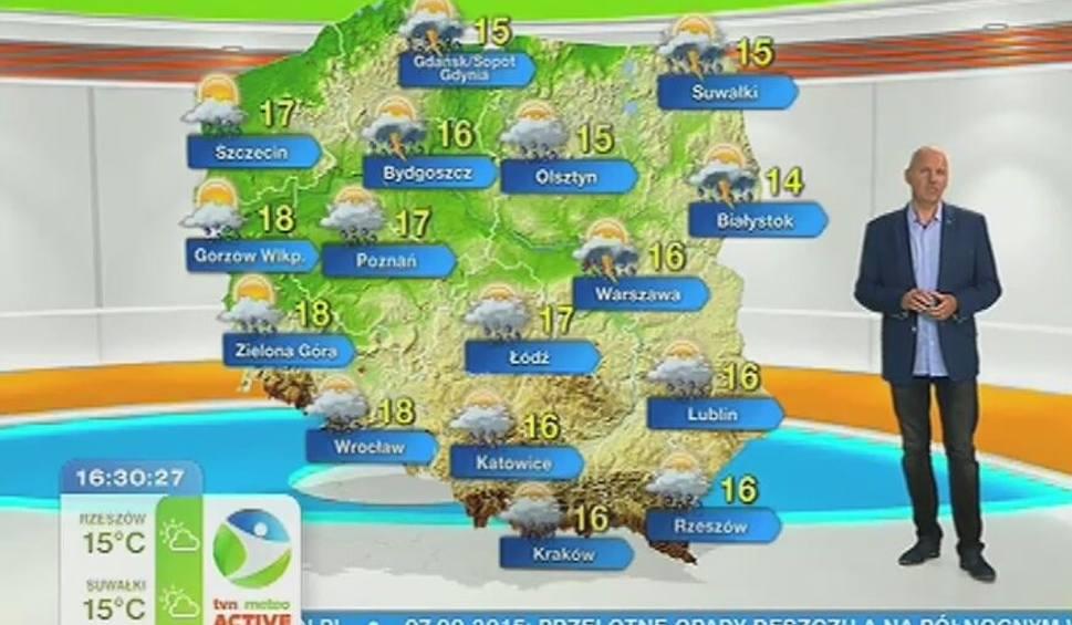 Film do artykułu: Burze, ulewy i zimny wiatr. We wtorek utrzyma się jesienna aura