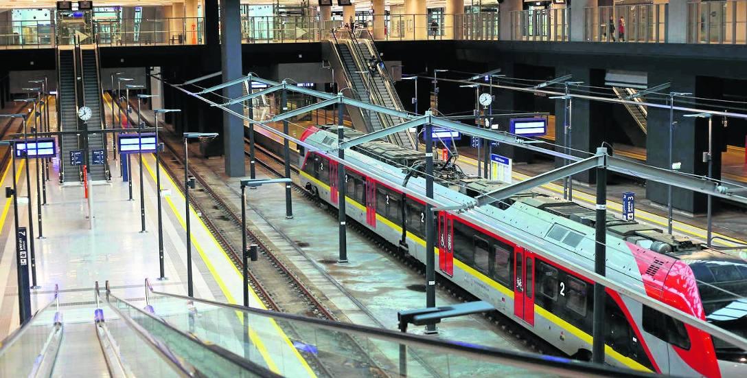 Kolej ma nowy rozkład jazdy. Część nowych pociągów będzie wyruszać z dworca Łódź Fabryczna
