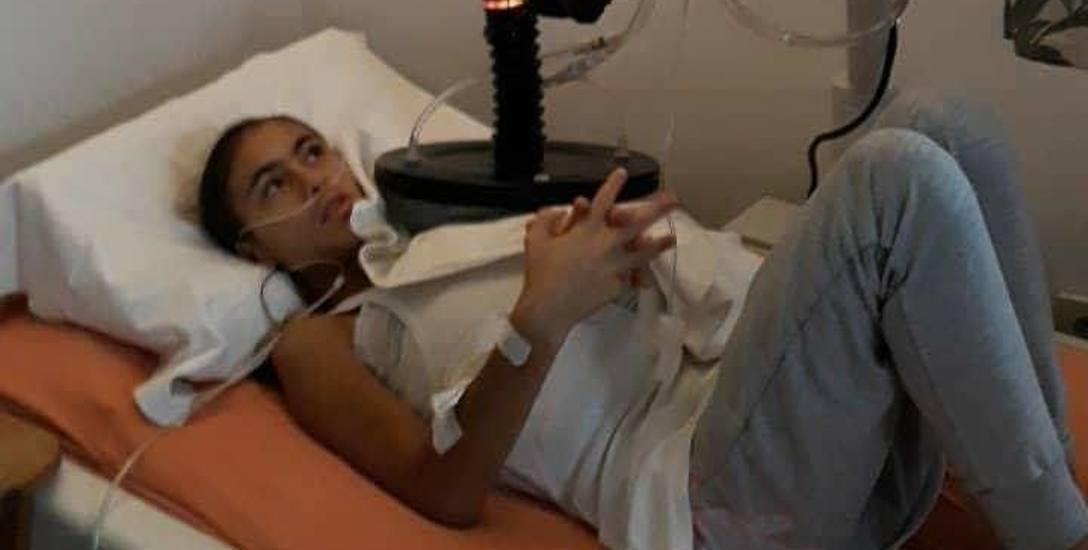 Gabrysia cierpi na nowotwór złośliwy. Jedynie terapia zastosowana w Niemczech daje dziewczynce szansę na przeżycie.