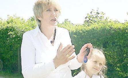 Agnieszka Kupiec z córką