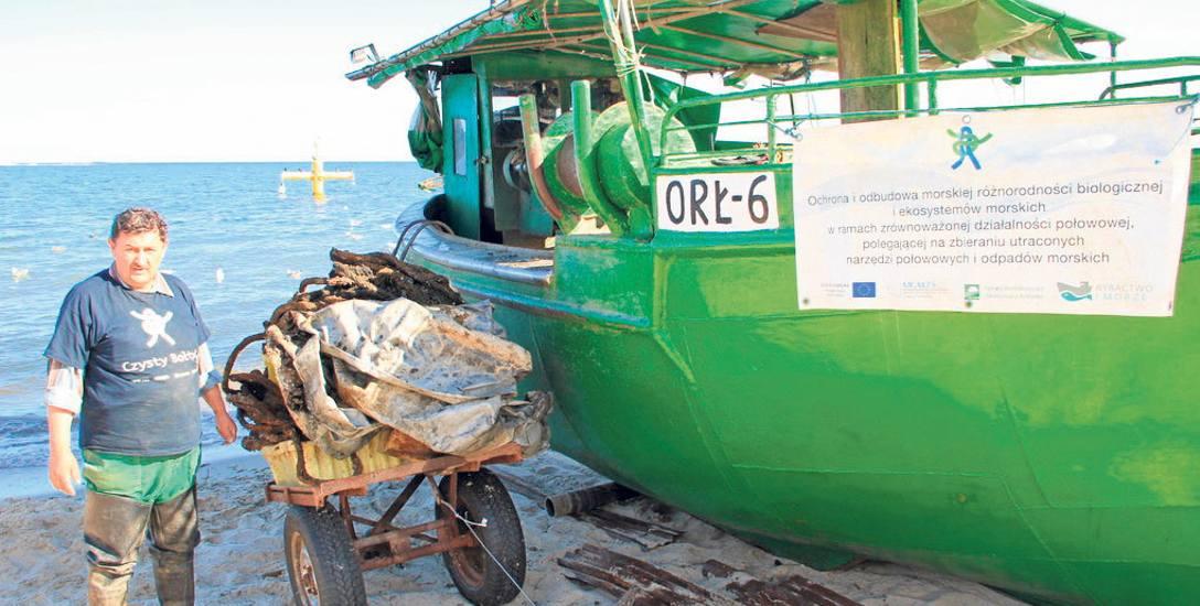 Morze jest pełne plastiku i starych sieci. 150 ton śmieci wyłowiono z Bałtyku