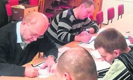 W jesiennej edycji kursy odbywały się w 24 kołach DFK. Na zdjęciu uczestnicy zajęć w jednej z grup w Opolu.