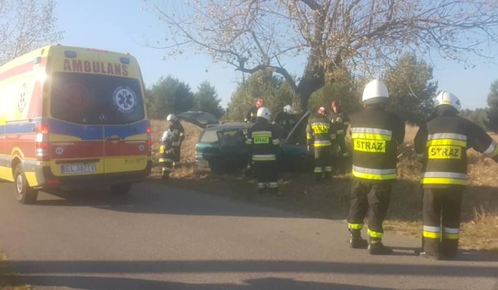 Film do artykułu: Wypadek w Januszkowie pod Bydgoszczą. Kierowca zabrany do szpitala [zdjęcia]