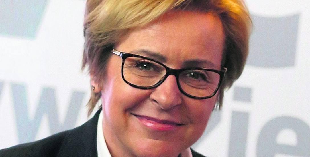 Europosłanka Prawa i Sprawiedliwości Jadwiga Wiśniewska