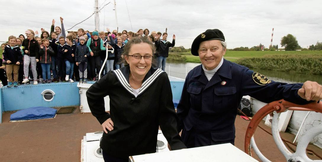 Druhna Ania i druhna Marysia, córka i mama, prowadzą wspólnie opolską drużynę żeglarską