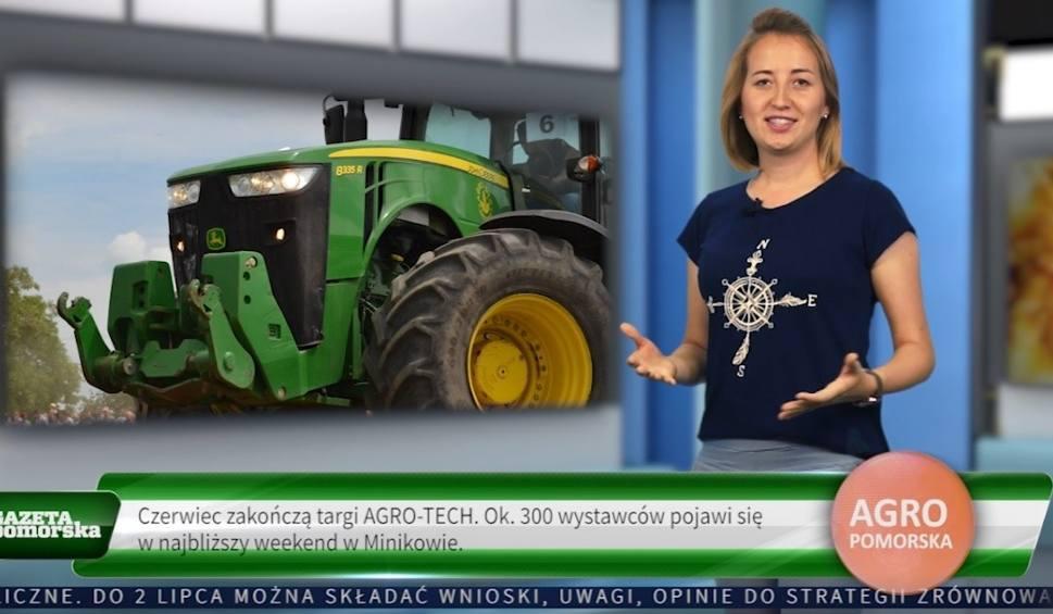 Film do artykułu: Agro Pomorska odcinek 67: stop suszy, protest weterynarii i stare ciągniki [wideo]