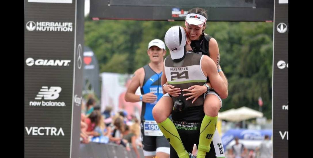 Ola i Wojtek pokochali triathlon. Na trening idą jak na randkę