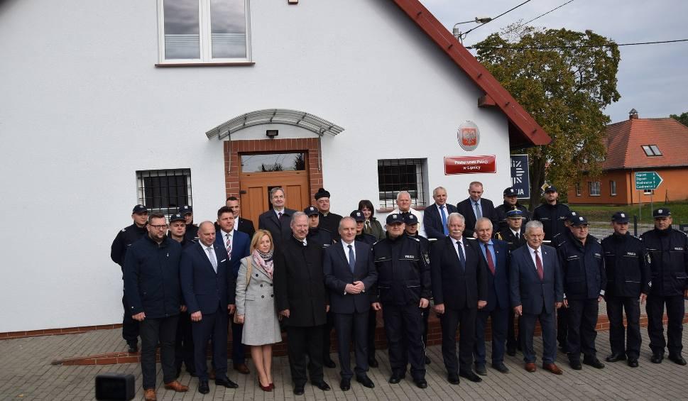 Film do artykułu: Posterunek Policji w Lipnicy pierwszą odtworzoną jednostką w województwie pomorskim. Uroczyste otwarcie (ZDJĘCIA, WIDEO)