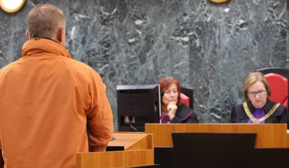 """Film do artykułu: Proces dotyczący głośnej zbrodni. Świadek zza krat """"ugotował"""" w tarnobrzeskim sądzie oskarżonego o zabójstwo żony! (zdjęcia)"""