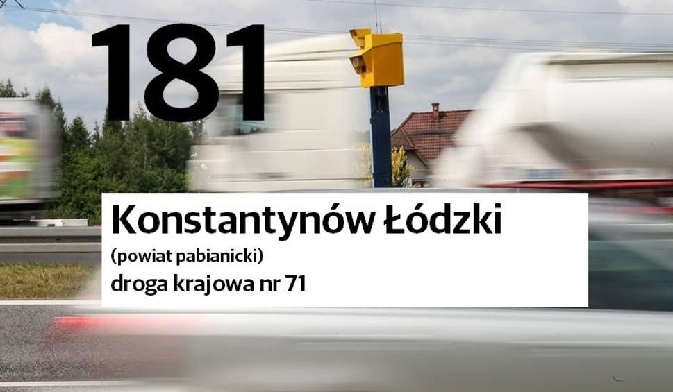 Film do artykułu: Fotoradary. Lista Fotoradarów w Łodzi i województwie. Gdzie stoją? Które rejestrują najwięcej wykroczeń? 9.05.2021