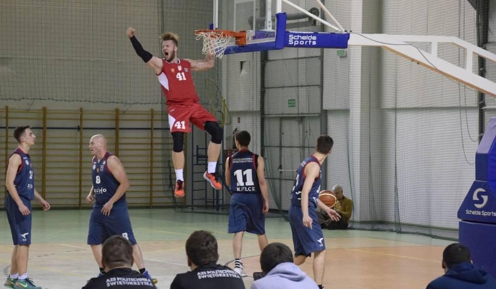 Film do artykułu: II liga koszykarzy: Derby Kielc dla AZS UJK