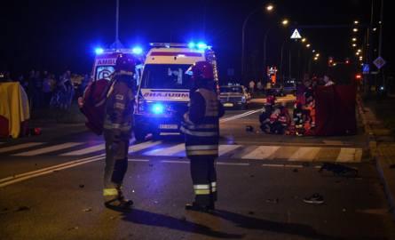 Tragiczny wypadek  w Tarnobrzegu. Dwie osoby nie żyją [ZDJĘCIA]
