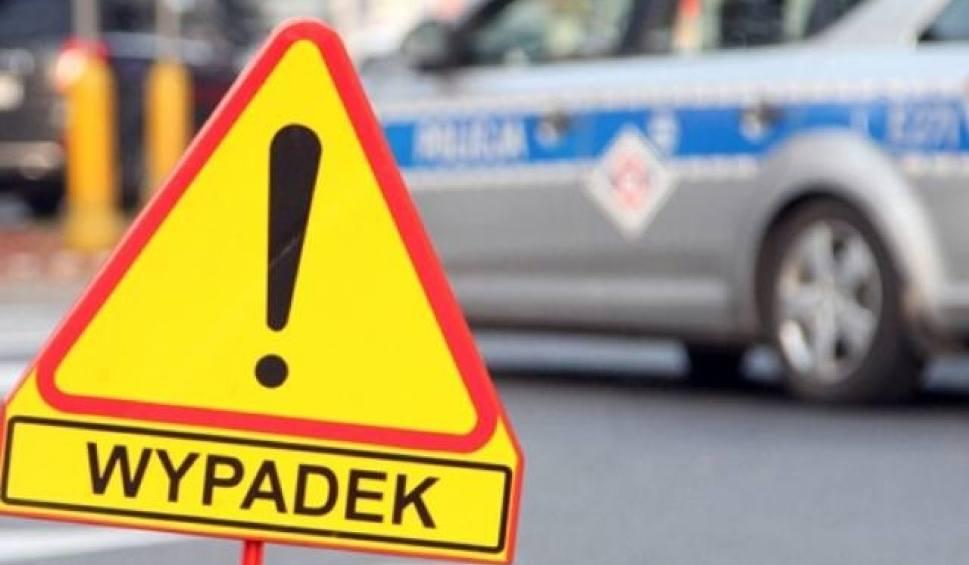 Film do artykułu: Uwaga wypadek! Droga Grębocin-Lubicz zablokowana