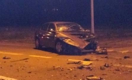 Wypadek w Leopoldowie. Siedem osób trafiło do szpitala