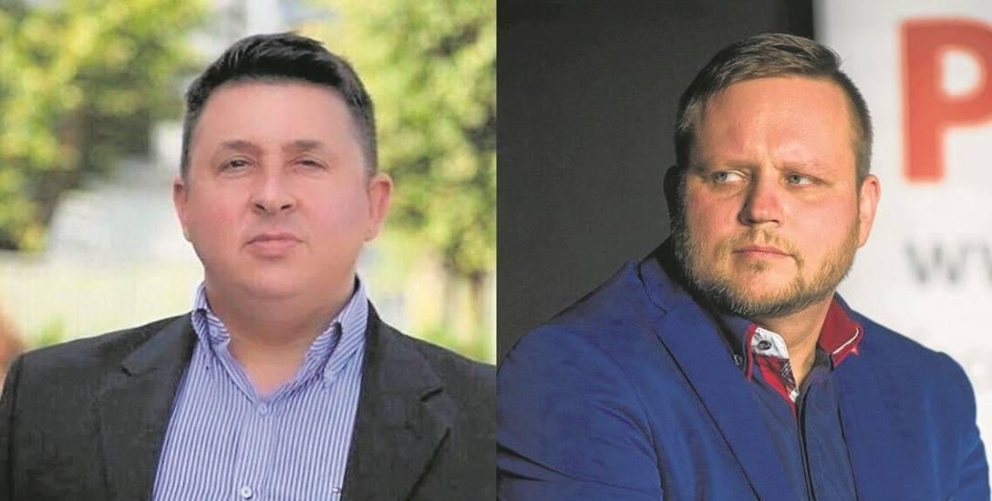 Marcin Iwaniuk (z lewej) od urodzenia mieszka w Zaściankach. Jest wiceburmistrzem Supraśla.Konrad Sikora (z prawej), były dziennikarz muzyczny od wczoraj