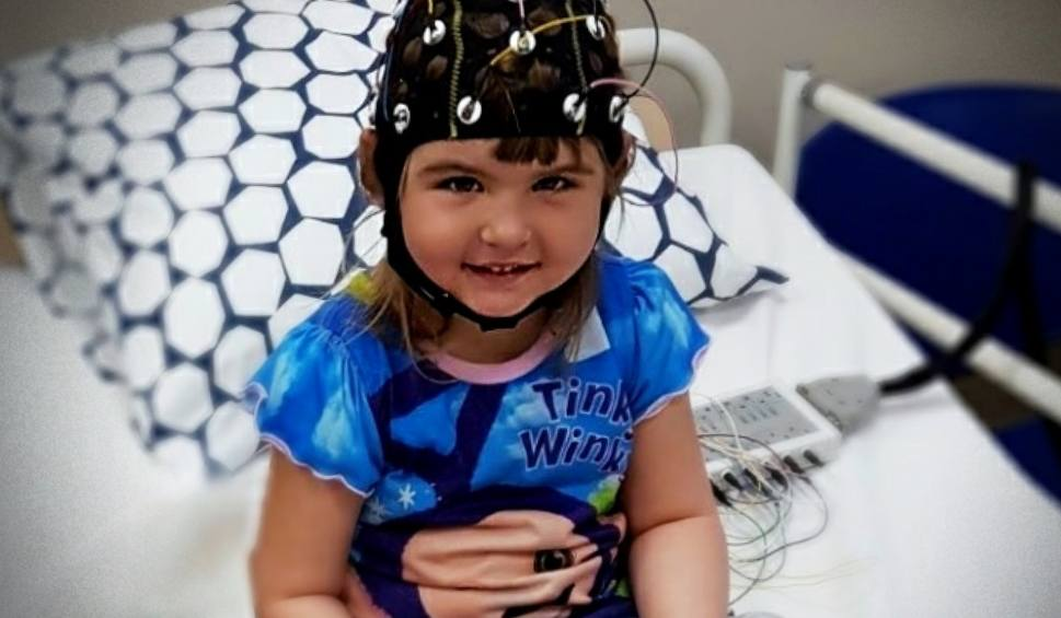 Film do artykułu: Pomóż pięcioletniej Antosi z Nowej Dęby. Padaczka niczym tornado niszczy jej życie
