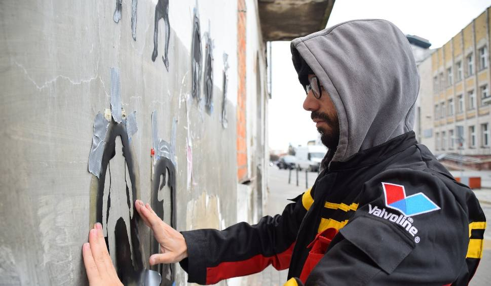 Film do artykułu: Festiwal ¿Underground/Independent?. Jaune robi mini murale (zdjęcia, wideo)