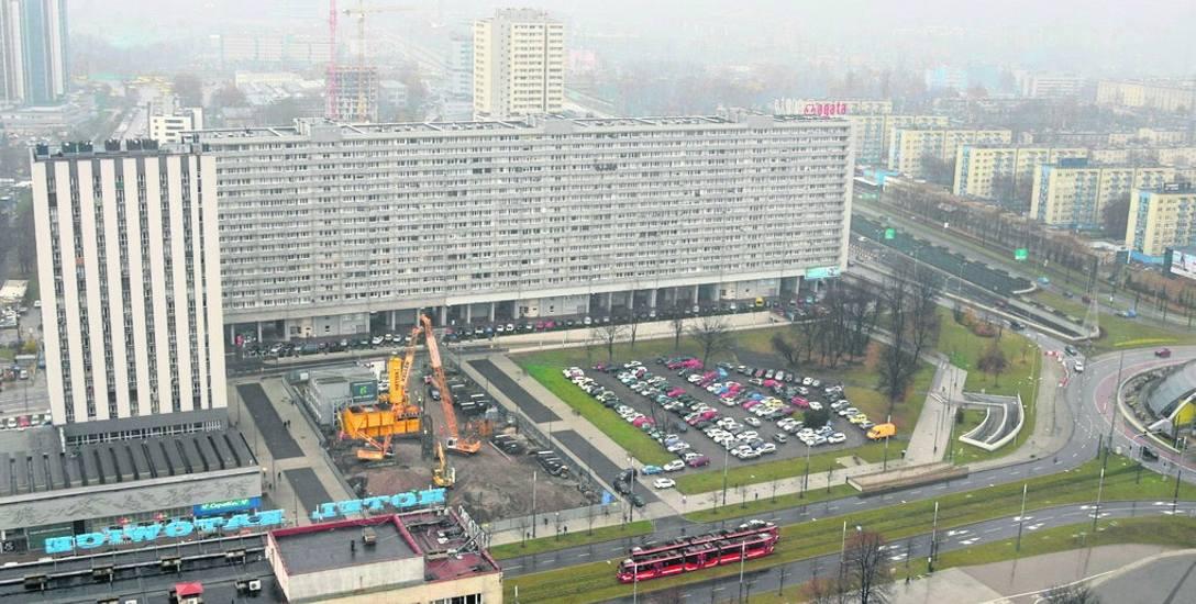 Hotel Puro powstaje na działce po wyburzonym Centrum u Michalika przy al. Korfantego