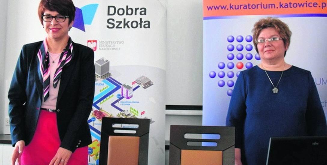 Kurator Urszula Bauer (z lewej) jest zadowolona z wyroku WSA