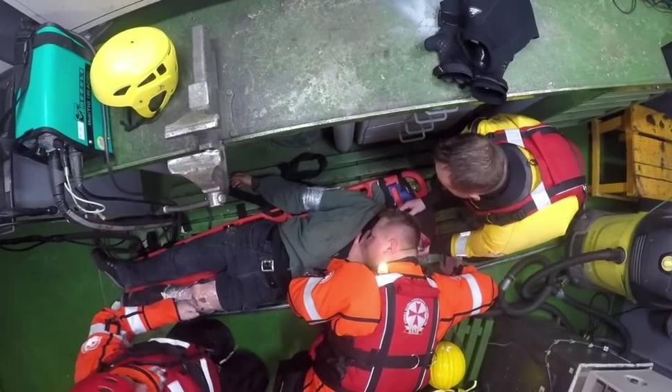 Film do artykułu: Apel ratowników morskich do żeglarzy: Nie korzystajcie teraz z uroków Morza Bałtyckiego! Zobacz wideo