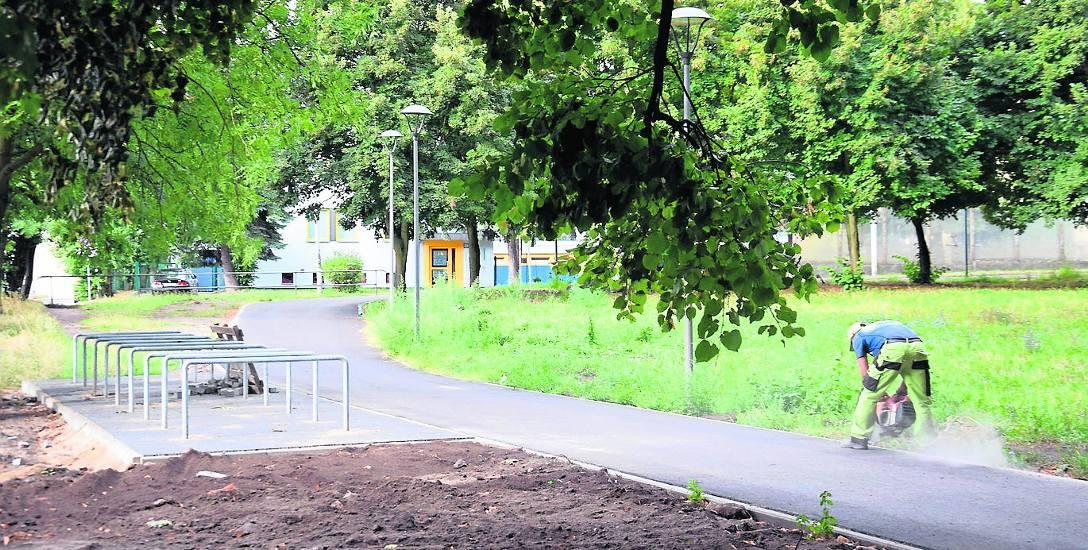 Stargard. Park Jagielloński będzie oazą wypoczynku, miejscem dla ludzi biernych i aktywnych