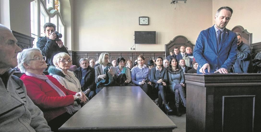 Spośród pięciu uniewinnionych żyje dwóch, w tym Józef Borowski  (pierwszy z lewej). - Decyzja sądu bardzo by męża ucieszyła - powiedziała nam Marta Gulcz,