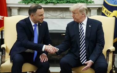 Zdjęcie z Donaldem Trumpem i co dalej? Walka o wpływy w Kancelarii Prezydenta