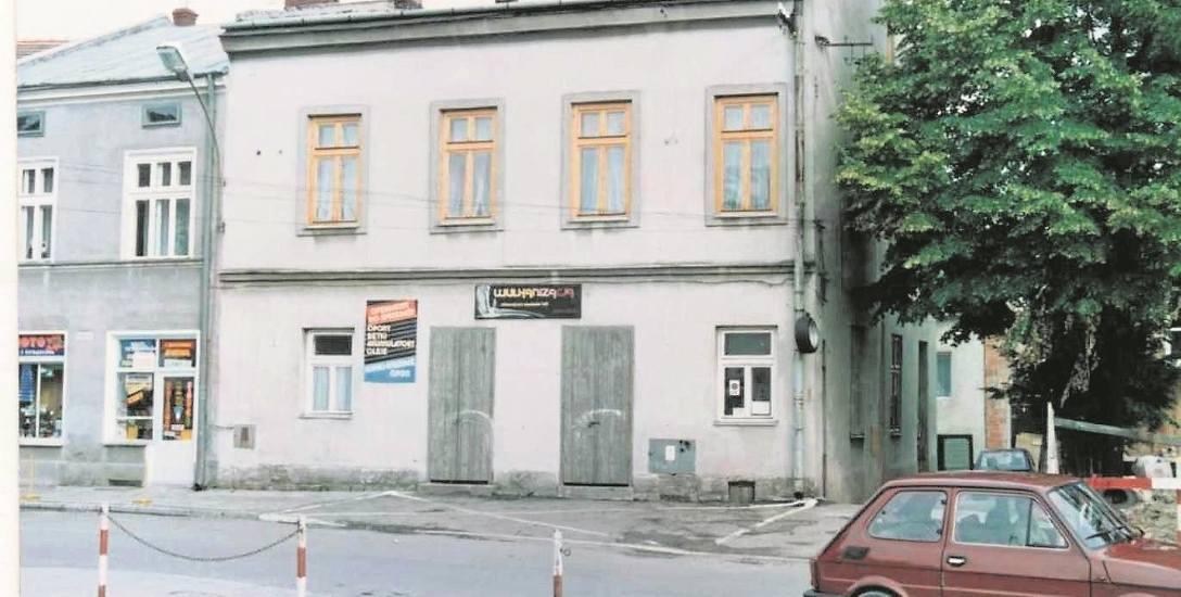 Zakład wulkanizacyjny Wacławskich (na zdjęciu) mieścił się przy Dworzysku, drugi - Ruttara - działał przy ul. Garbarskiej