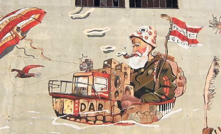 W ramach poprzedniej edycji budżetu obywatelskiego Darłowa powstał m.in. mural w darłowskim porcie