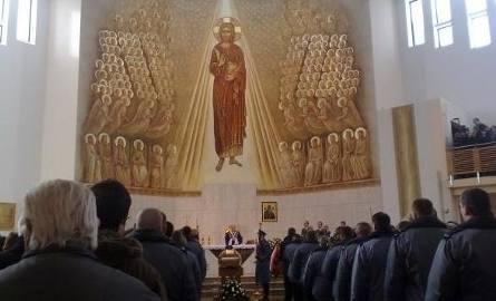 Warszawa. Pogrzeb zamordowanego policjanta Andrzeja Struja (zdjęcia)