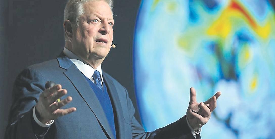 Przemowa Ala Gore'a pełna była kąśliwych uwag. Krytykował m.in. prezydenta USA Donalda Trumpa